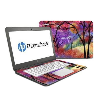 HP Chromebook 14 Skin - Moon Meadow