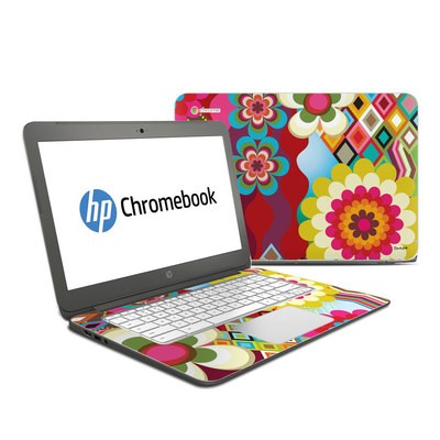 HP Chromebook 14 G4 Skin - Mosaic