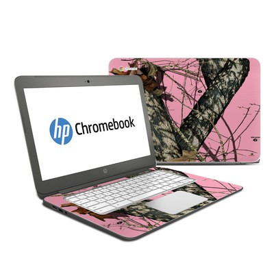 HP Chromebook 14 Skin - Break-Up Pink