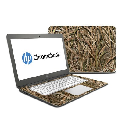 HP Chromebook 14 Skin - Shadow Grass Blades