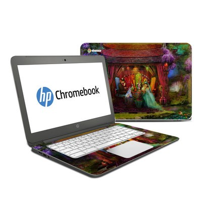 HP Chromebook 14 Skin - A Mad Tea Party