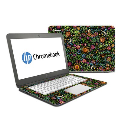 HP Chromebook 14 Skin - Nature Ditzy