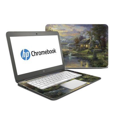 HP Chromebook 14 Skin - Natures Paradise