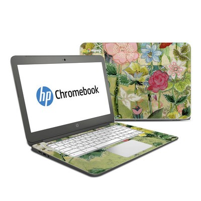 HP Chromebook 14 Skin - Nurture