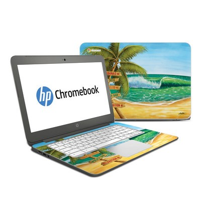 HP Chromebook 14 Skin - Palm Signs