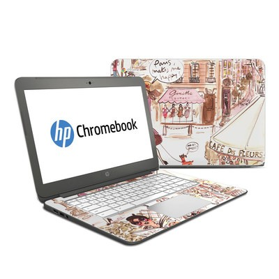 HP Chromebook 14 G4 Skin - Paris Makes Me Happy