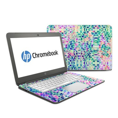 HP Chromebook 14 Skin - Pastel Triangle