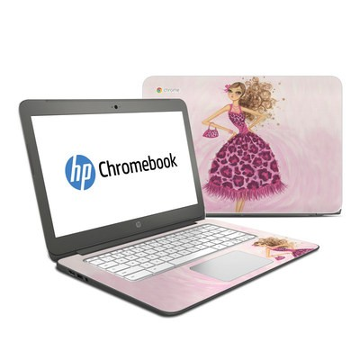 HP Chromebook 14 Skin - Perfectly Pink