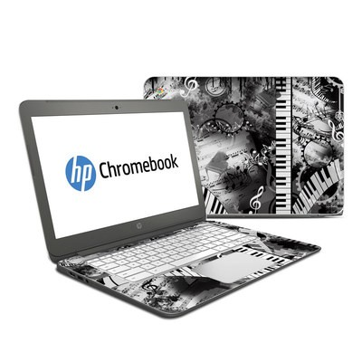 HP Chromebook 14 Skin - Piano Pizazz