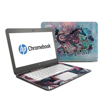 HP Chromebook 14 Skin - Poetry in Motion