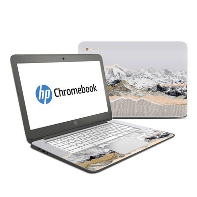 HP Chromebook 14 G4 Skin - Pastel Mountains