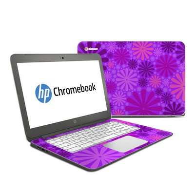 HP Chromebook 14 G4 Skin - Purple Punch