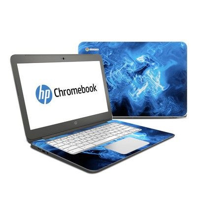 HP Chromebook 14 G4 Skin - Blue Quantum Waves