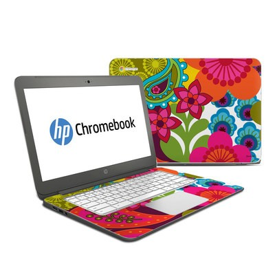 HP Chromebook 14 Skin - Raj