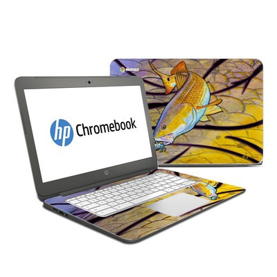 HP Chromebook 14 G4 Skin - Red Fish