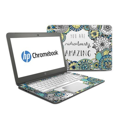 HP Chromebook 14 Skin - You Are Ridic