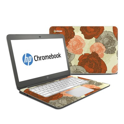 HP Chromebook 14 Skin - Roses