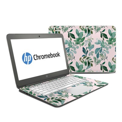 HP Chromebook 14 Skin - Sage Greenery