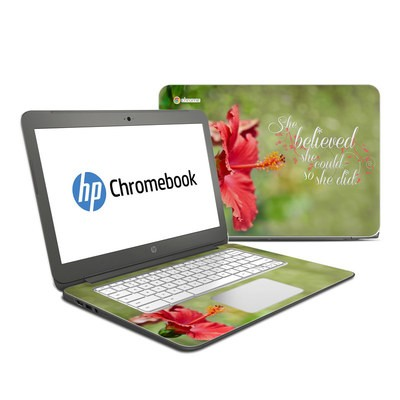 HP Chromebook 14 Skin - She Believed