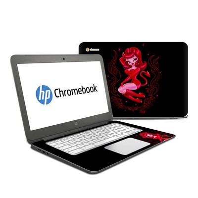 HP Chromebook 14 G4 Skin - She Devil