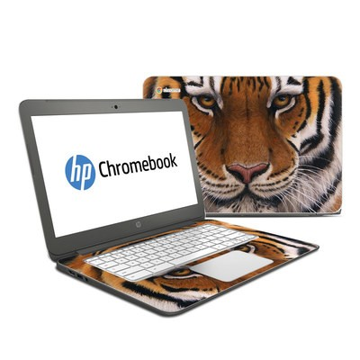 HP Chromebook 14 Skin - Siberian Tiger