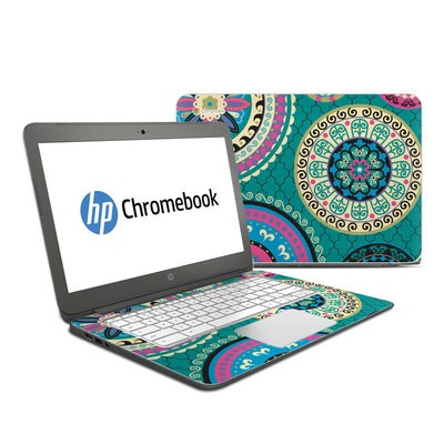 HP Chromebook 14 Skin - Silk Road