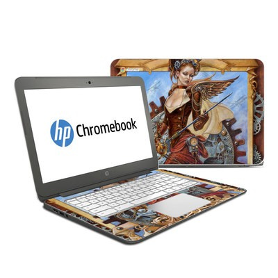 HP Chromebook 14 G4 Skin - Steam Jenny