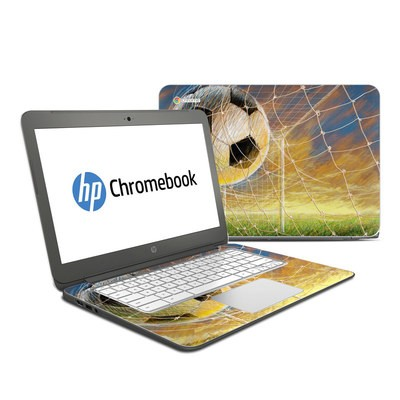 HP Chromebook 14 Skin - Soccer