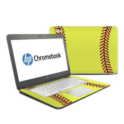 HP Chromebook 14 G4 Skin - Softball