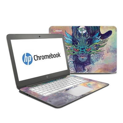 HP Chromebook 14 Skin - Spectral Cat