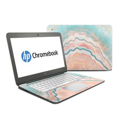 HP Chromebook 14 Skin - Spring Oyster