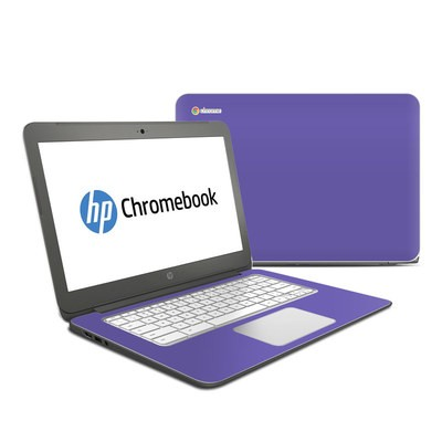 HP Chromebook 14 G4 Skin - Solid State Purple
