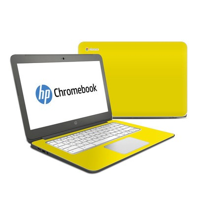 HP Chromebook 14 G4 Skin - Solid State Yellow