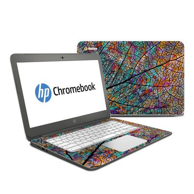 HP Chromebook 14 Skin - Stained Aspen