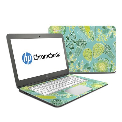 HP Chromebook 14 Skin - Succulents