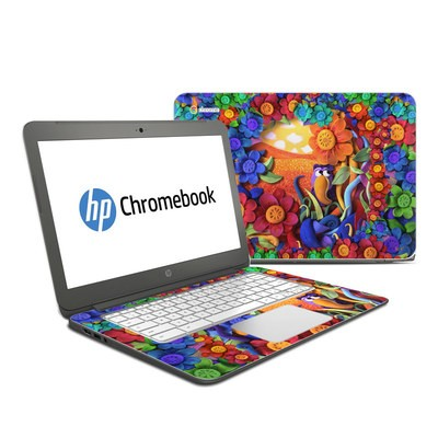 HP Chromebook 14 Skin - Summerbird