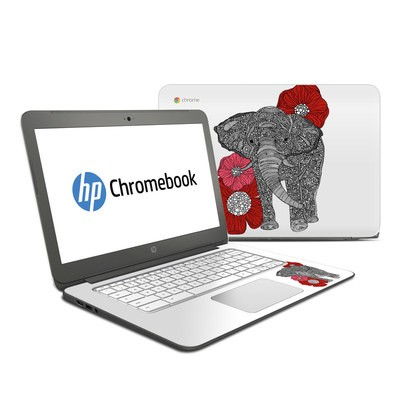 HP Chromebook 14 G4 Skin - The Elephant