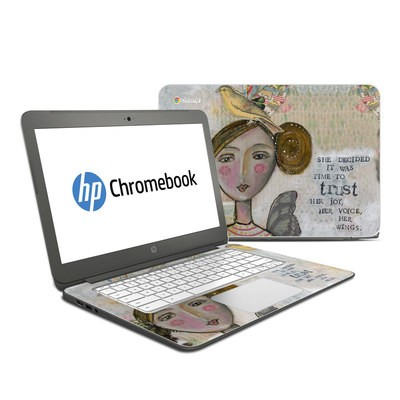 HP Chromebook 14 Skin - Time To Trust