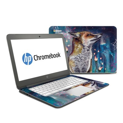HP Chromebook 14 Skin - There is a Light
