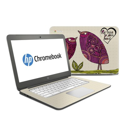 HP Chromebook 14 Skin - True Birds
