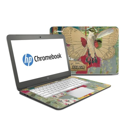 HP Chromebook 14 Skin - Trust Your Dreams
