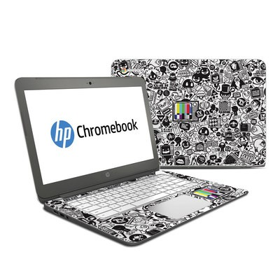 HP Chromebook 14 Skin - TV Kills Everything