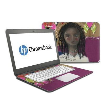 HP Chromebook 14 Skin - Warrior of Love