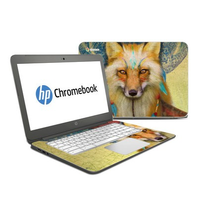 HP Chromebook 14 G4 Skin - Wise Fox