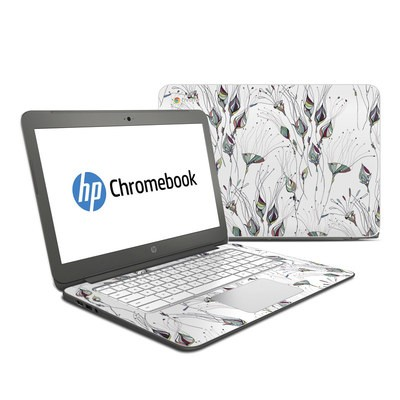 HP Chromebook 14 G4 Skin - Wildflowers