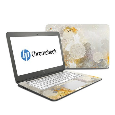 HP Chromebook 14 Skin - White Velvet