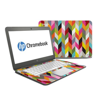 HP Chromebook 14 Skin - Ziggy Condensed