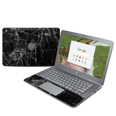 HP Chromebook 14 G5 Skin - Black Marble