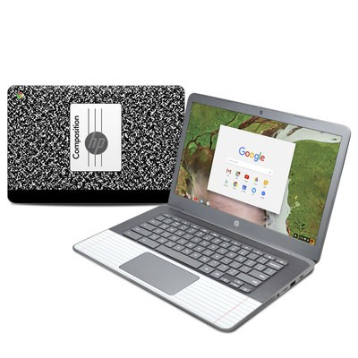 HP Chromebook 14 G5 Skin - Composition Notebook