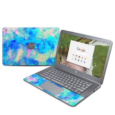 HP Chromebook 14 G5 Skin - Electrify Ice Blue